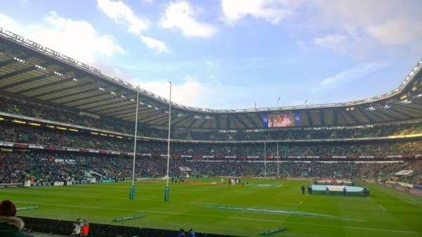 Twickenham Stadium, secção: L32, fila: 16, lugar: 115