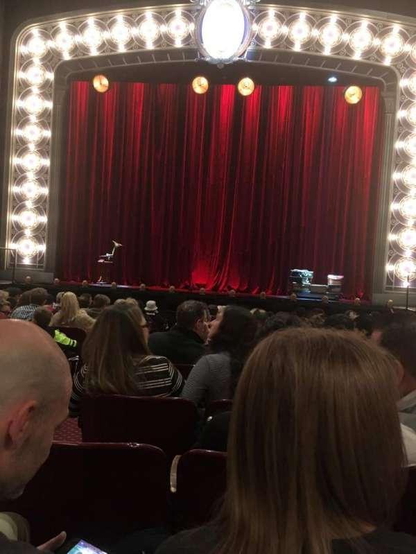 Palace Theatre (Broadway), secção: Orchestra, fila: M, lugar: 104