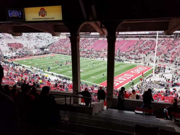 Ohio Stadium, secção: 10B, fila: 12, lugar: 21