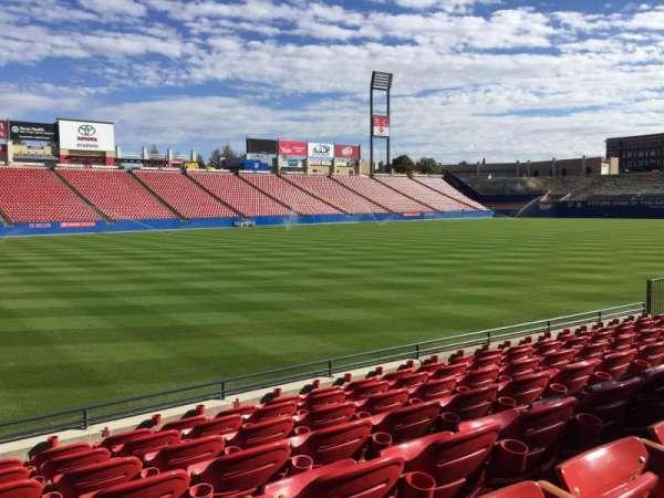 Toyota Stadium, secção: 102, fila: 7, lugar: 2