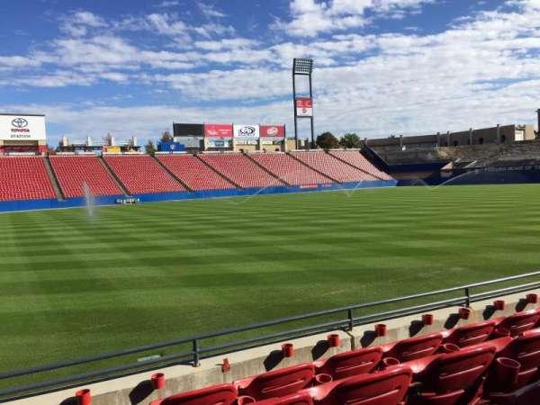 Toyota Stadium, secção: 104, fila: 4, lugar: 5