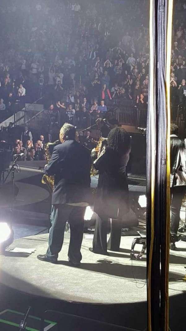 Madison Square Garden, secção: 110, fila: 6, lugar: 14