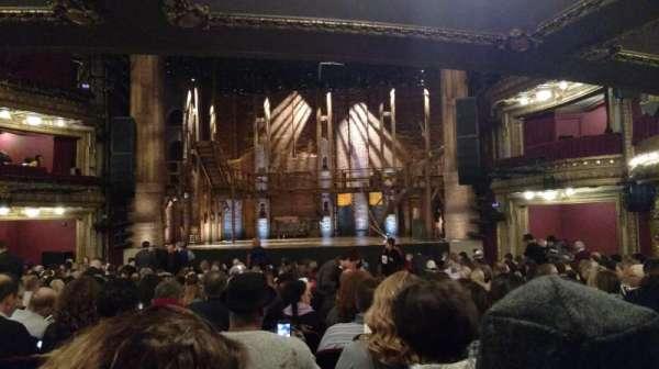 CIBC Theatre, secção: Orchestra C, fila: W, lugar: 117