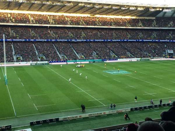Twickenham Stadium, secção: M11, fila: 68