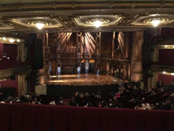 CIBC Theatre, secção: Dress Circle LC, fila: B, lugar: 223