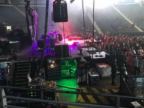 Infinite Energy Arena, secção: 115, fila: L, lugar: 5