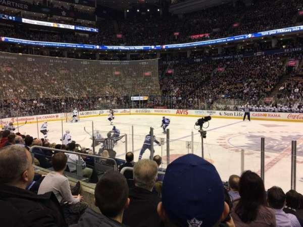 Scotiabank Arena, secção: 108, fila: 9, lugar: 6