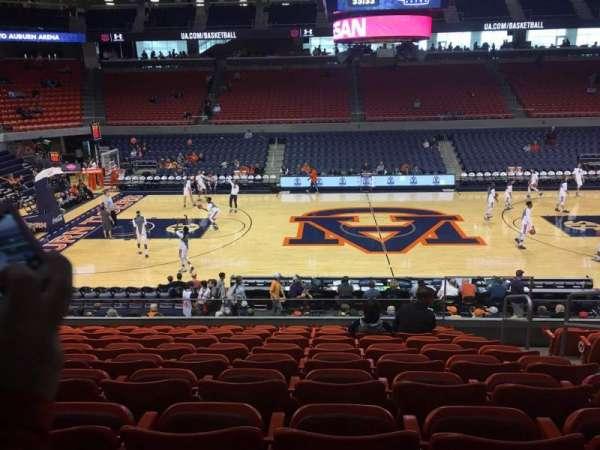Auburn Arena, secção: 111, fila: 18, lugar: 3