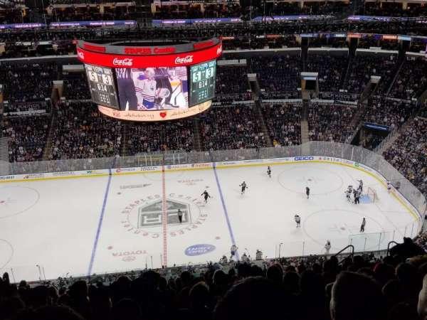 Staples Center, secção: 301, fila: 15, lugar: 10