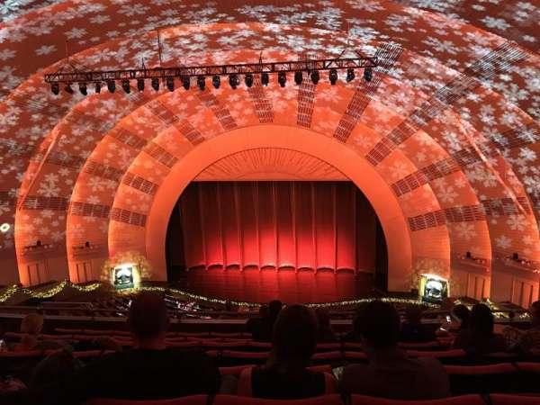 Radio City Music Hall, secção: 3rd Mezzanine 3, fila: H, lugar: 304