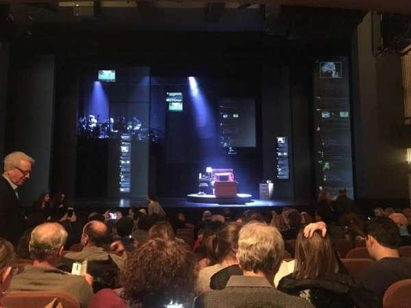 Music Box Theatre, secção: Orchestra C, fila: N, lugar: 107