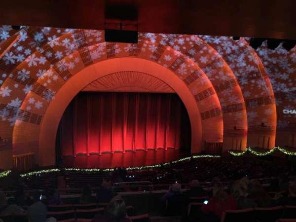 Radio City Music Hall, secção: 2nd Mezzanine 6, fila: G, lugar: 604