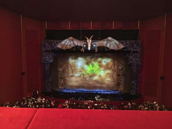 The Kennedy Center Opera House, secção: 1st Tier, fila: A, lugar: 205