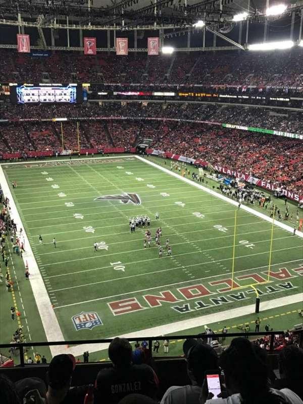 Georgia Dome, secção: 311, fila: 5, lugar: 2