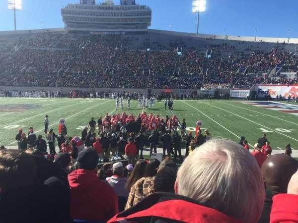 Liberty Bowl Memorial Stadium, secção: 119, fila: 14, lugar: 2
