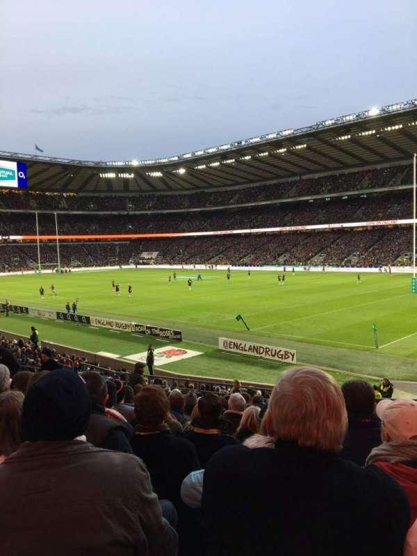 Twickenham Stadium, secção: L2, fila: 18, lugar: 129