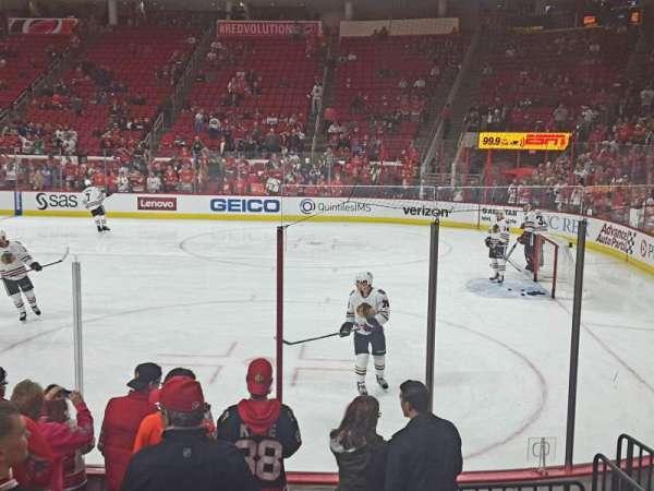 PNC Arena, secção: 101, fila: H, lugar: 2,3,4,5