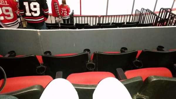 PNC Arena, secção: 101, fila: H, lugar: 4