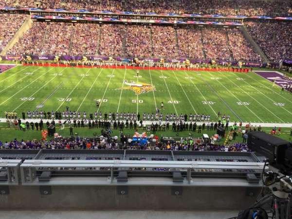 U.S. Bank Stadium, secção: Press