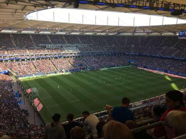 Volksparkstadion, secção: 21C, fila: 15, lugar: 29