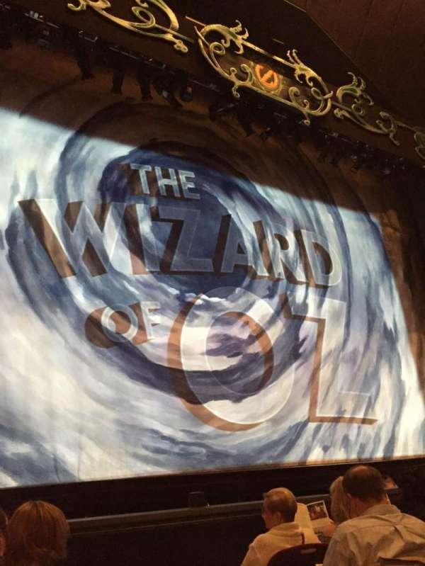 Walnut Street Theatre, secção: Orleft, fila: E, lugar: 202