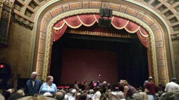 Florida Theatre, secção: 300, fila: p, lugar: 7