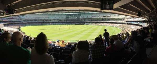 Melbourne Cricket Ground, secção: N13, fila: J, lugar: 18