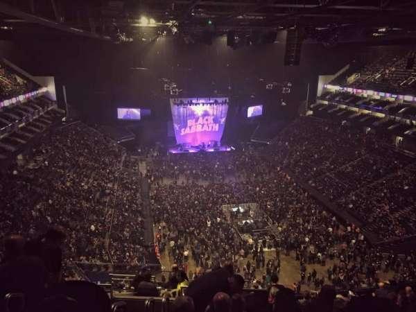 The O2 Arena, secção: 410, fila: N, lugar: 685