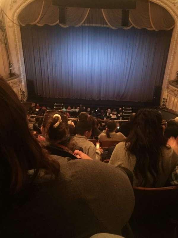 Merriam Theater, secção: Balcony, fila: L, lugar: 106
