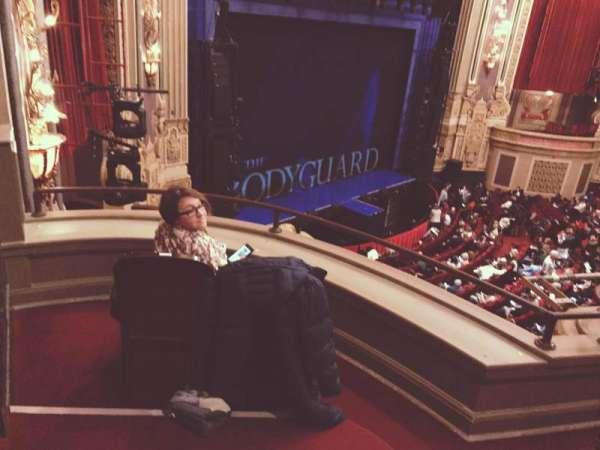 Nederlander Theatre (Chicago), secção: Loge - Box 1, fila: A, lugar: 375