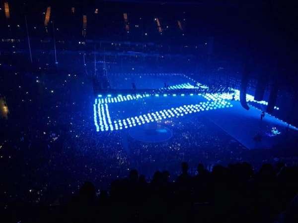The O2 Arena, secção: 419, fila: G, lugar: 907