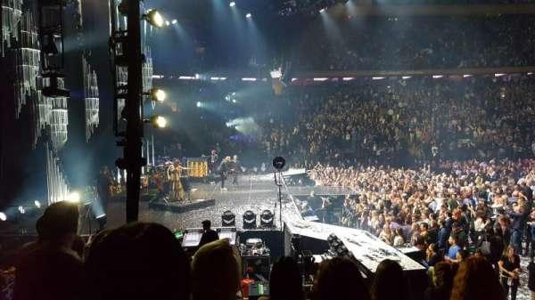 Madison Square Garden, secção: 115, fila: 7, lugar: 10