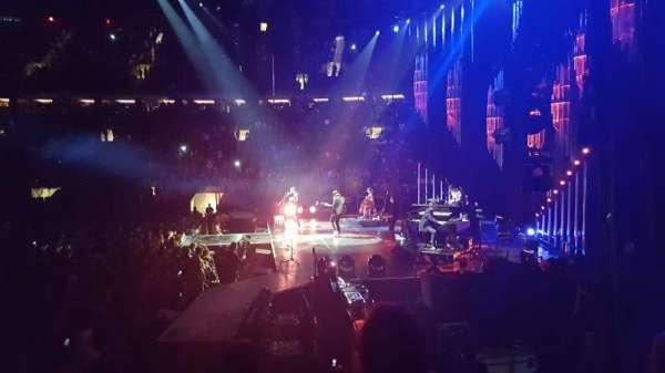 Madison Square Garden, secção: 109, fila: 6, lugar: 2