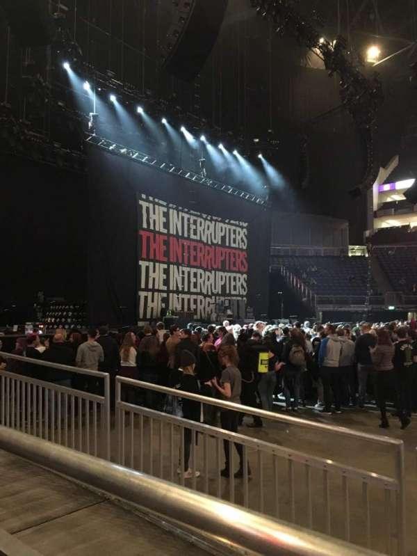 The O2 Arena, secção: W101, fila: W101