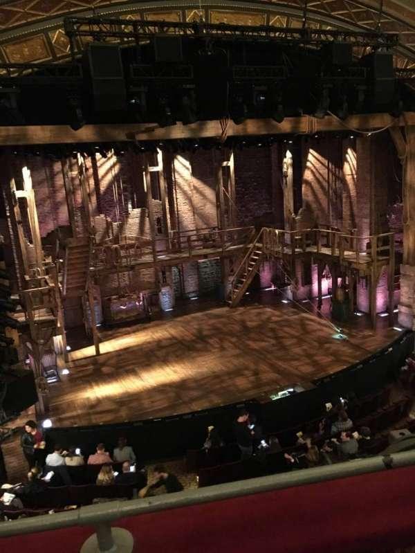 Richard Rodgers Theatre, secção: Front Mezzanine L, fila: B, lugar: 9