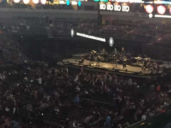 American Airlines Center, secção: 213, fila: A, lugar: 1