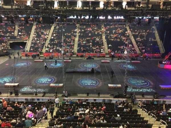 Infinite Energy Arena, secção: 206, fila: A, lugar: 11