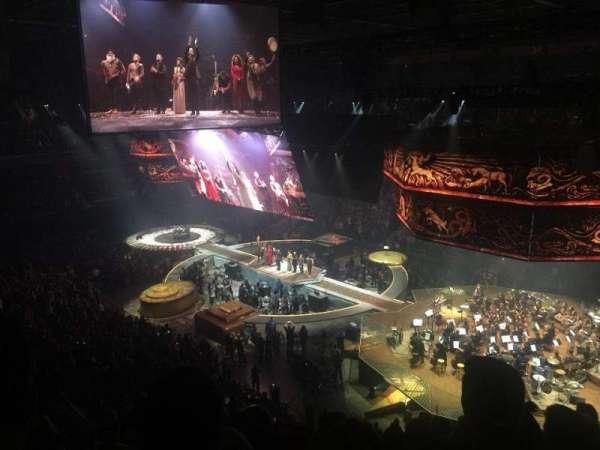 Mohegan Sun Arena, secção: 104, fila: 5, lugar: 9