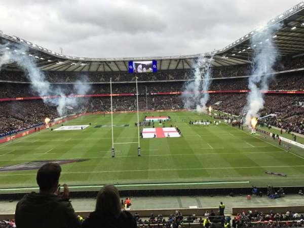 Twickenham Stadium, secção: M19, fila: 55, lugar: 117