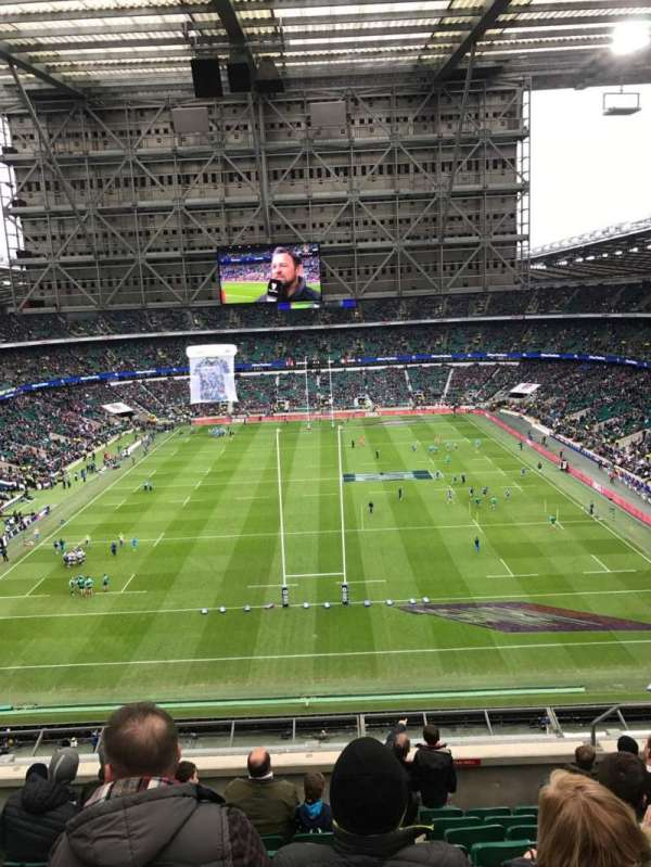 Twickenham Stadium, secção: U45, fila: J, lugar: 197