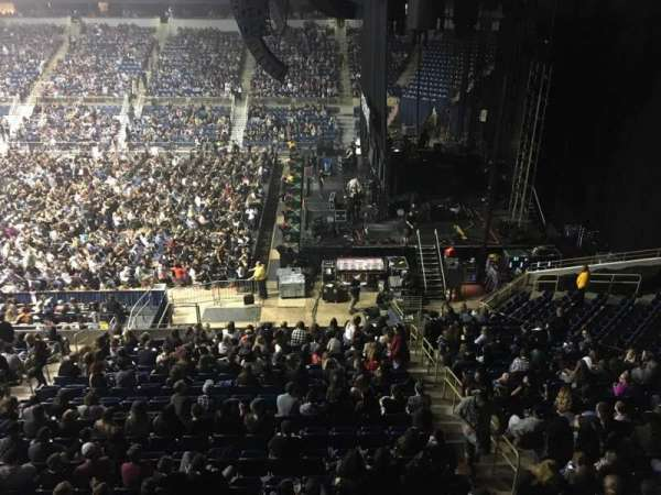 Petersen Events Center, secção: L220, fila: A, lugar: 5