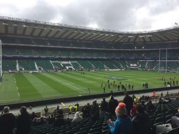 Twickenham Stadium, secção: East, fila: L34, lugar: 309