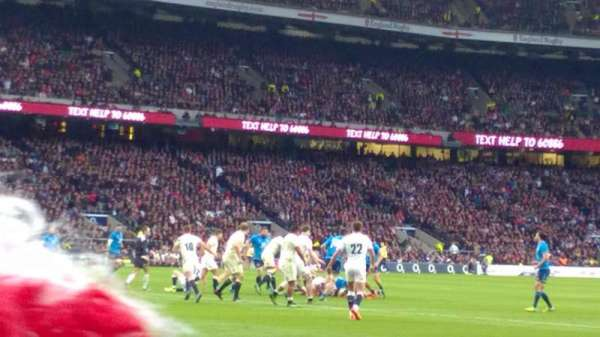 Twickenham Stadium, secção: L29, fila: 2, lugar: 314