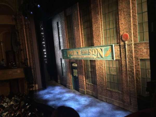 Al Hirschfeld Theatre, secção: Right BOX, fila: D, lugar: 10