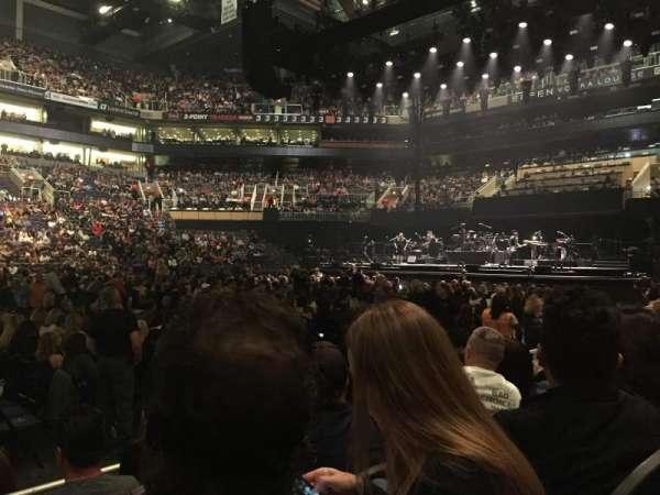 PHX Arena, secção: 102, fila: 4, lugar: 15