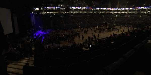 The O2 Arena, secção: 101, fila: X, lugar: 31