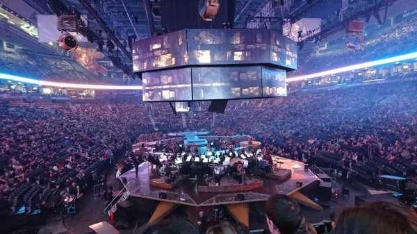 Scotiabank Arena, secção: 114, fila: 22, lugar: 6