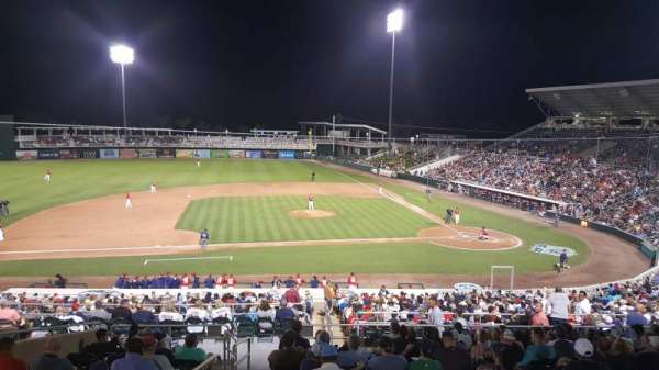 Hammond Stadium at CenturyLink Sports Complex, secção: 214, fila: 302, lugar: 19
