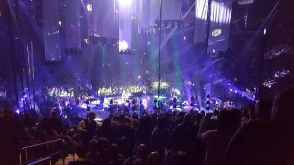 Madison Square Garden, secção: 112, fila: 22, lugar: 5