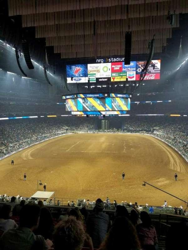 NRG Stadium, secção: 323, fila: J, lugar: 2